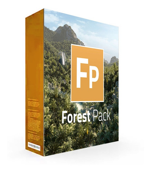 Itoo Forest Pack Pro 6 Para 3ds Max 2014 A 2020 + Vegetacao