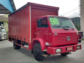 Volkswagen 12140 Baú Sider Bebida 1998