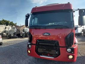 Ford Cargo 2429/12/13 Vermelho Bitruck Carroceria Madeira