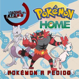 Pokémon A Pedido Espada Escudo Sword Shield A Través De Home
