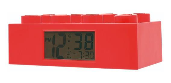 Reloj Lego Ladrillo Alarma Rojo O9002168 Outlet