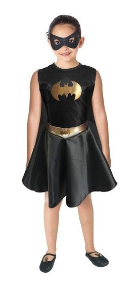 Disfraz Batichica Niña Batgirl Warner Original Fantasy Ruz