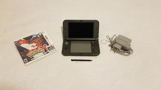 New Nintendo 3ds Xl+cargador Original+10 Juegos Digitales.