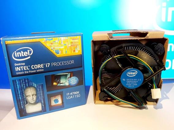 Caixa + Cooler Box Processador Intel Core I7 4790k Original