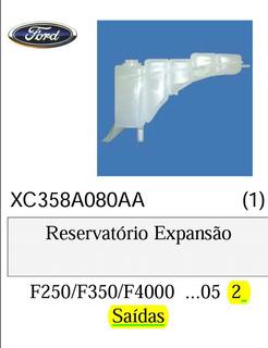 Reservatório Expansão Água F250 F350 F4000 Ate 2005 2 Saídas
