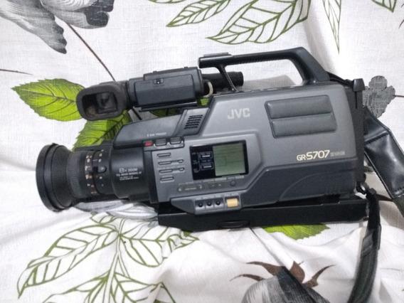 Filmadora Profissional Antiga Jvc Gr-s707 Made:japan