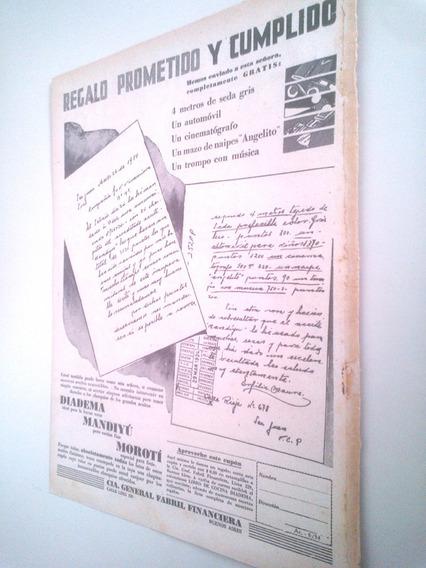 Aceite Moroti Cocina Argentina - Antigua Publicidad 1930s