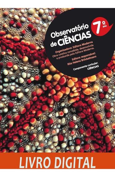 Observatório De Ciências - 1 Ed - Ano 7
