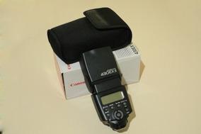 Flash Canon 430 Ex Ii Novo Ttl Hss