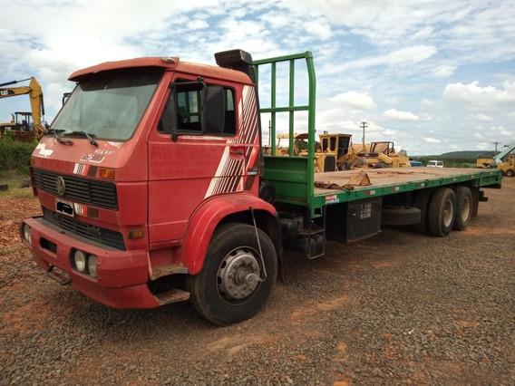 Caminhão Truck Prancha Vw35300 - Ano 1994