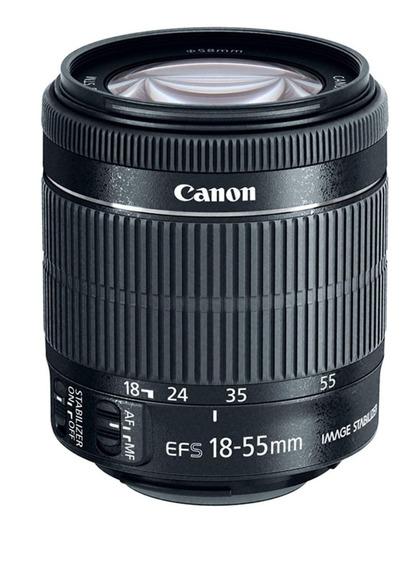 Lente Canon Ef-s 18-55mm F/3.5-5.6 Is Ii Nuevo Envío Gratis