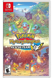 Pokémon Mystery Dungeon Rescue Team Dx Nintendo Switch