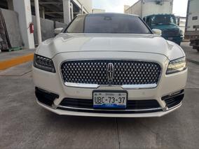 Lincoln Continental 3.0 L Ecoboost V6 2018 Somos Agencia