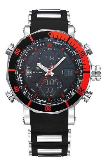 Genuino Reloj Weide Wh5203 Con Estuche