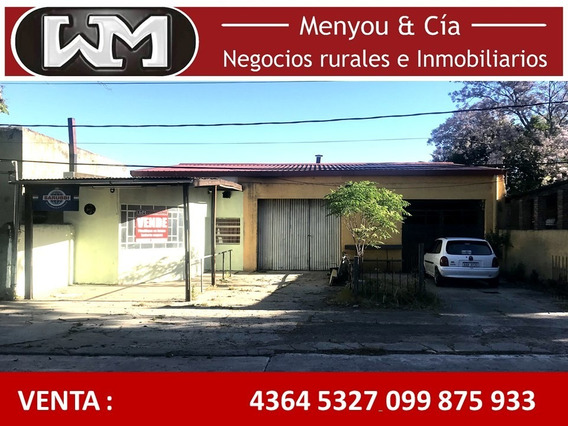 Venta Casa + Local Comercial Trinidad Flores Cochera Patio