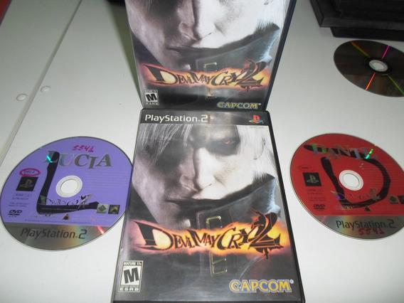 Play 2 Devil May Cry 2 Disco Duplo Original Semi-novo