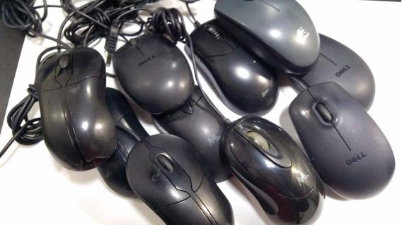 Lote 20 Mouses Usb Variados Funcionando (6344)
