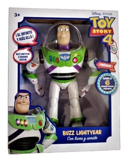 Muñeco Toy Story 4 Buzz Lightyear Importado C/sonido+envió