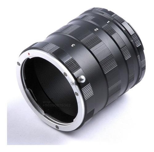 Tubos De Extension Macro Para Canon Eos Envío Gratis