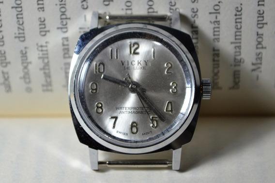Relógio Vicky De Luxe Antimagnetic Sem Pulseira