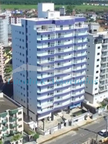 Imagem 1 de 14 de Ap02246 Apartamento Novo  Vila Caiçara Em Praia Grande Sp,