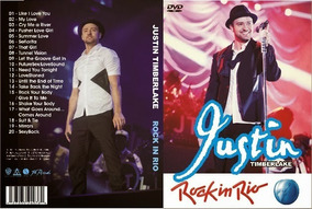 Dvd Justin Timberlake - Rock In Rio 2013