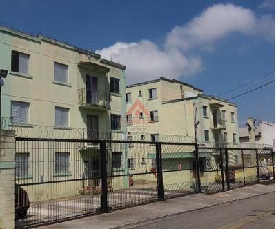 Apartamento Com 2 Dormitórios À Venda, 54 M² Por R$ 160.000 - Vila Monte Belo - Itaquaquecetuba/sp - Ap0565