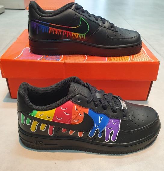 Tênis Nike Air Force 1 (gs) Customizado