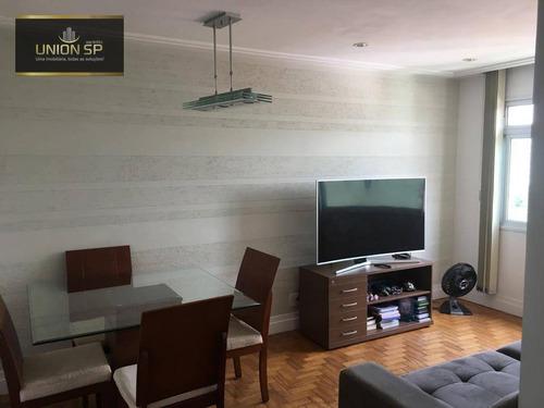 Apartamento À Venda, 72 M² Por R$ 480.000,00 - Lapa - São Paulo/sp - Ap44073