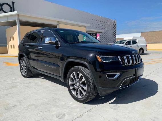 Jeep Grand Cherokee Limited Lujo 2018 Piel V6 Quemacocos