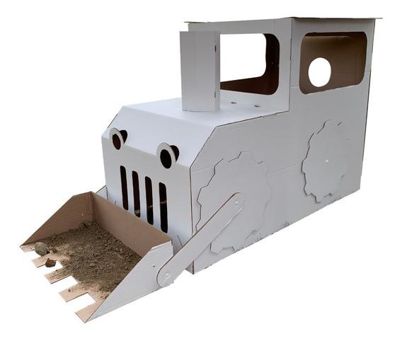 Tractor Y Tren De Cartón Mamut Cardboard Toys