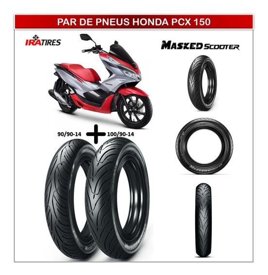 Pneu 90/90-14 E Pneu 100/90-14 Honda Pcx 150 Ira