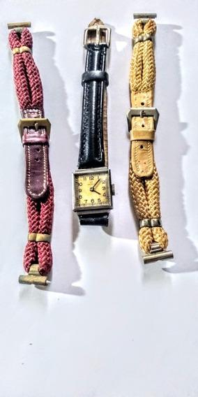 Omega Antiqüíssimo Relógio Suíço Feminino Corda Anos 30