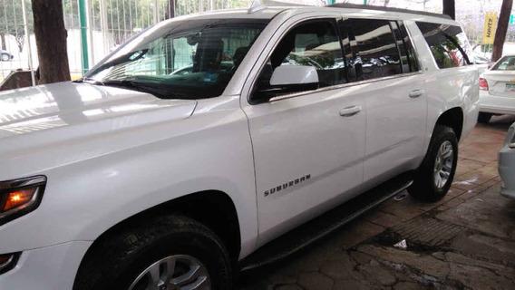Chevrolet Suburban 2019 5p Lt V8/5.3 Aut Piel 2da/banca