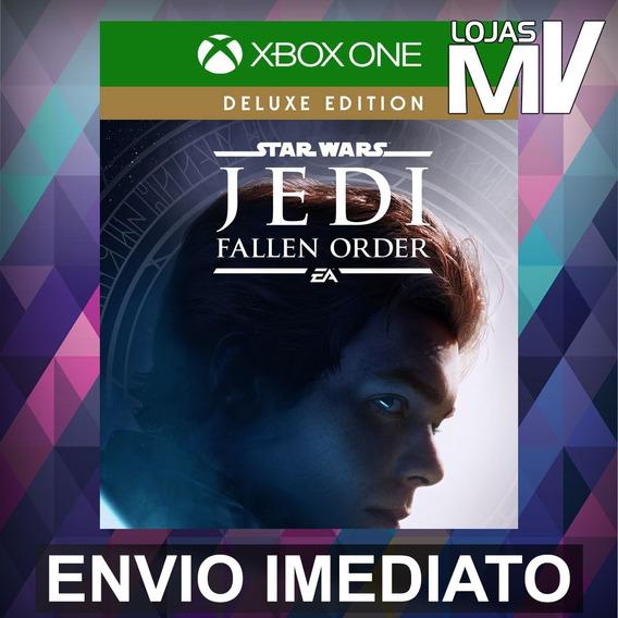 Star Wars Jedi Fallen Order Deluxe Xbox One Código 25 Digito