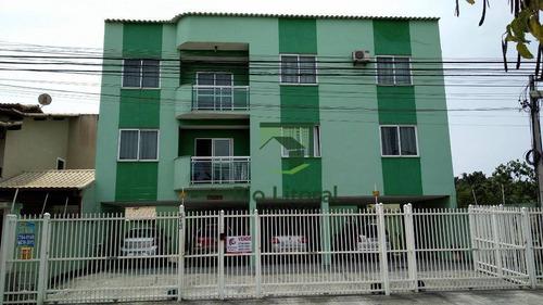 Apartamento A Venda Com 3 Dormitórios No Bairro Recreio - Rio Das Ostras/rj - Ap0473