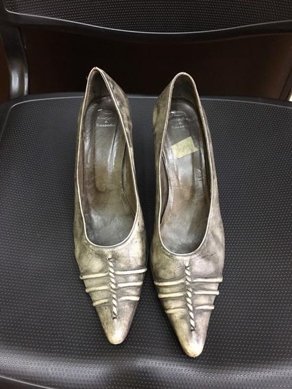 Zapatos Maggio Rosetto 39 Grises/ Luquido