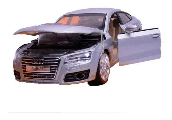 Auto De Coleccion Audi A7 Escala 1:32 Msz Con Luz Y Son Full