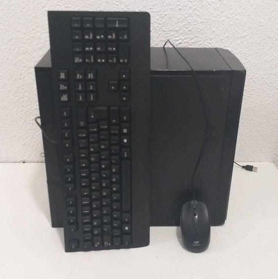 Cpu Intel Core2duo 4gb Ram Hd500 Gb Completa *ler Descrição*