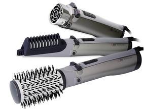 Escova Rotativa Conair Rotating Air Brush Titanium