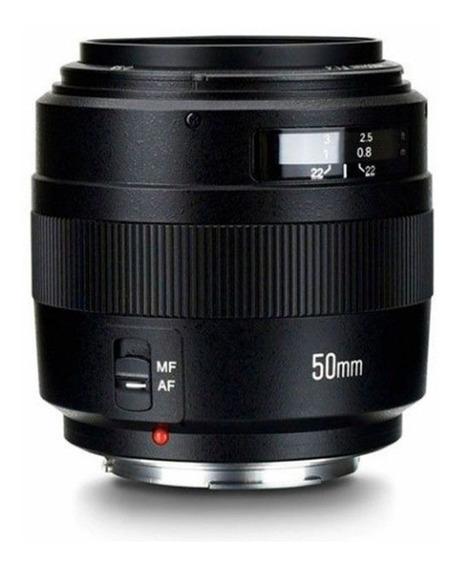 Lente Yongnuo Yn 50mm F1.4 - Para Canon Lacrada Original