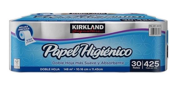 Papel Higiénico Kirkland Signature Con 30 Rollos De 425 Hd
