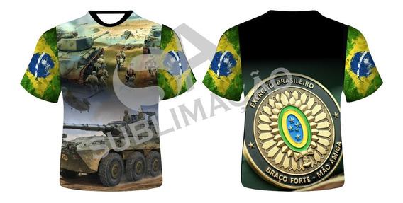 Camiseta Exercito Brasileiro Brasil