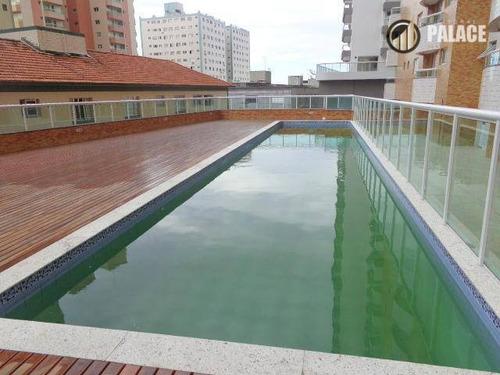 Apartamento Com 1 Dormitório À Venda, 67 M² Por R$ 402.000,00 - Canto Do Forte - Praia Grande/sp - Ap2012