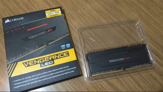 Memoria Ram Corsair Vengeance Red Led Ddr4 8gb 3200ghz