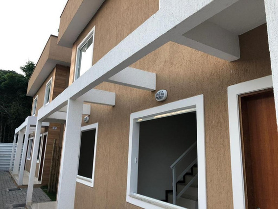 Casa Em Itaocaia Valley (itaipuaçu), Maricá/rj De 75m² 2 Quartos À Venda Por R$ 165.000,00 - Ca212713