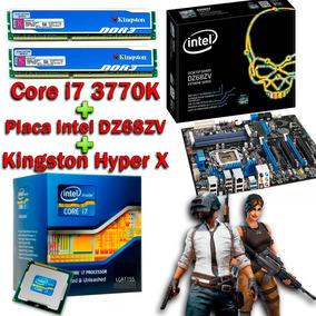 Kit Intel Core I7 3770k 3.50ghz + Intel Dz68zv + 8gb Hyper X
