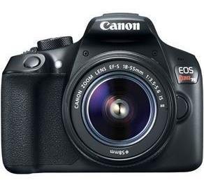 Canon T6 + Lente 18-55mm + Grip Travor + Bateria Extra