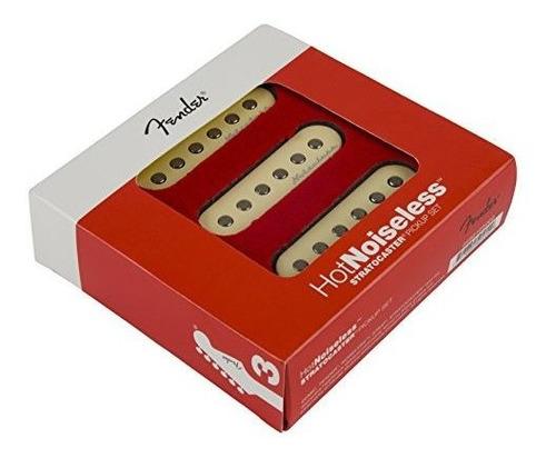 Fender Strat Hot Noiseless Pickups Juego De 3 Piezas De Guit