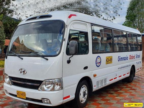 Autobuses Buses Hyundai Contry